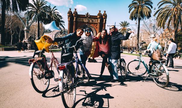 Велотур по Барселоне