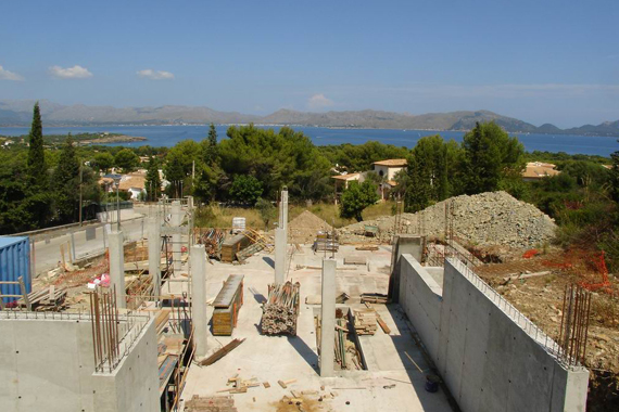 Pollensa - Fantastic villa under construction in Bonaire (Mallorca)