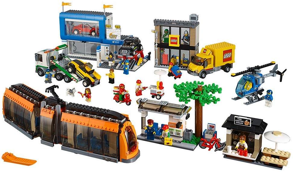 lego city town square