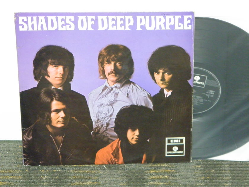 "Deep Purple - ""Shades Of Deep Purple"" UK Import Parlophone PCS 7055 ""FLIPBACK COVER"""