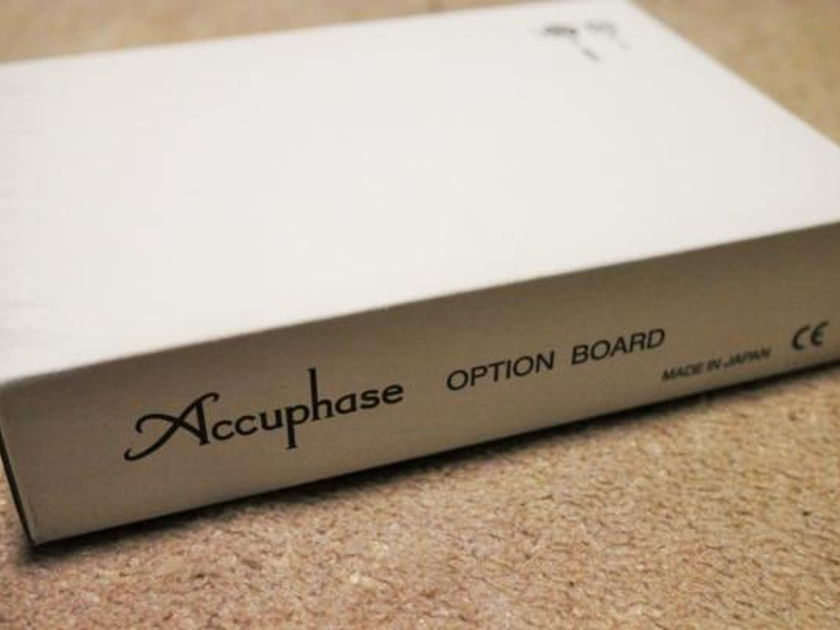 ACCUPHASE DAC-30 OPTION BOARD WITH USB INPUT EXCELLENT  CONDITION