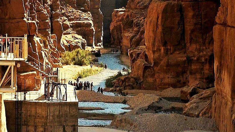 Wadi Mujib Canyon, Jordan