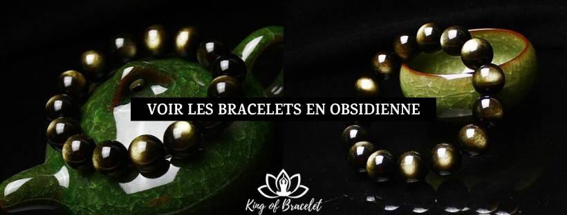 Bracelet en Obsidienne - King of Bracelet
