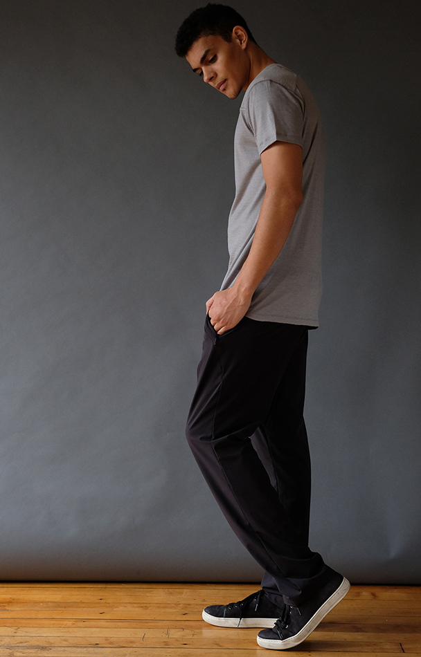 TENACIOUS – INSANELY COMFORTABLE LONG HAUL FLIGHT PANT BLACK