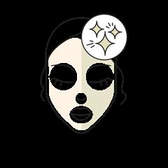 Tone-up Alginate Face Masks