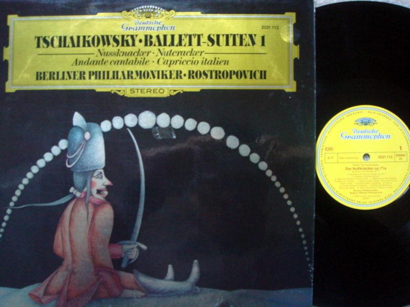 DG / Tchaikovsky Nutcracker Suite, - ROSTROPOVICH/BPO, MINT!
