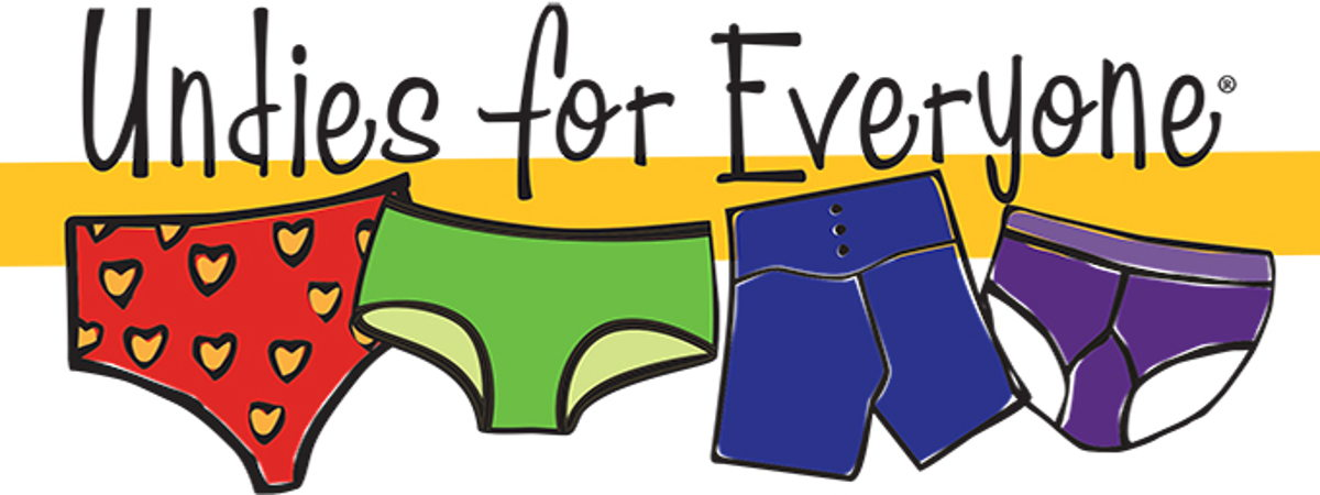 Undies for Everyone banner