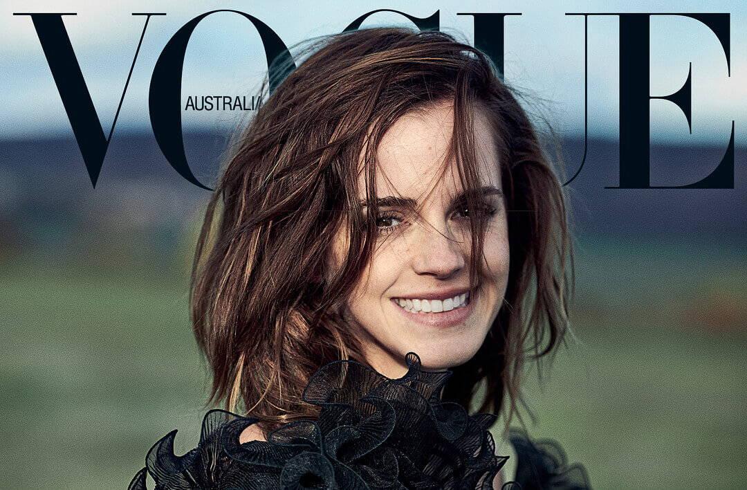 Emma Watson Vogue Vegan