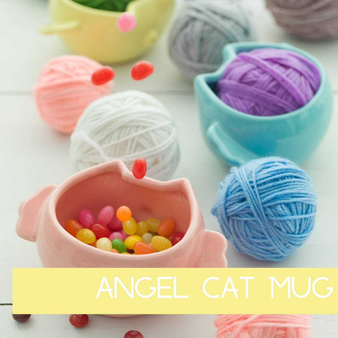 Angel Cat Mug