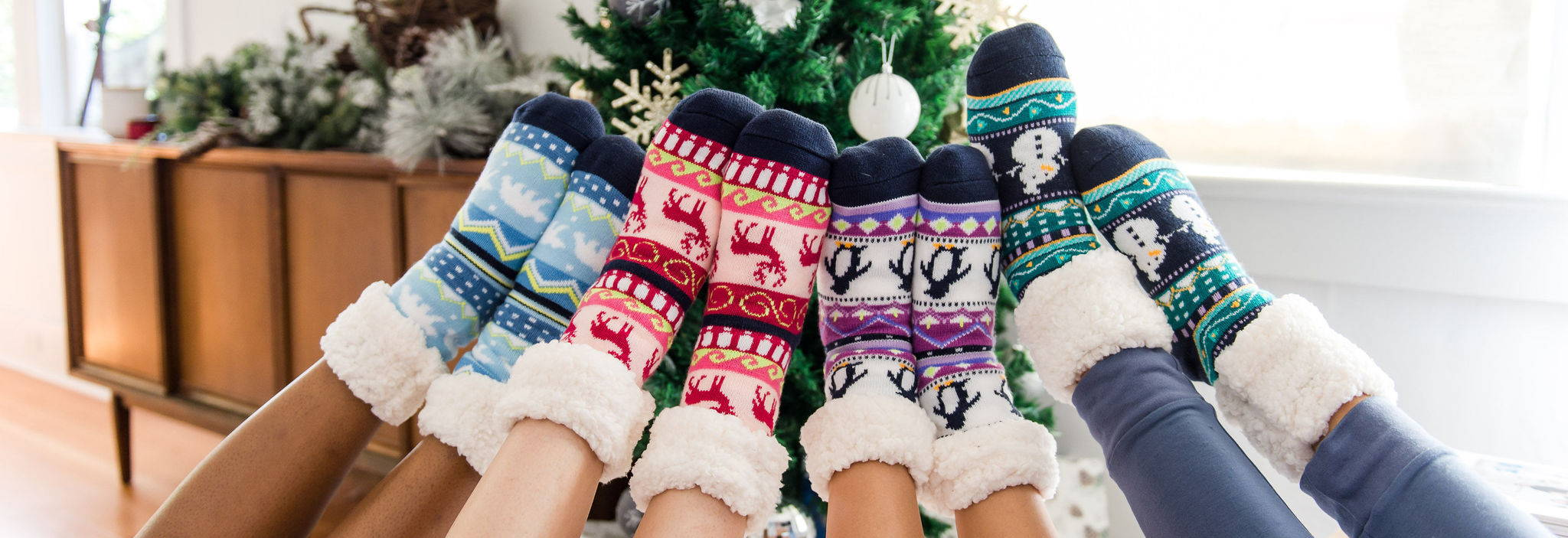 Bright Slipper Socks Collection