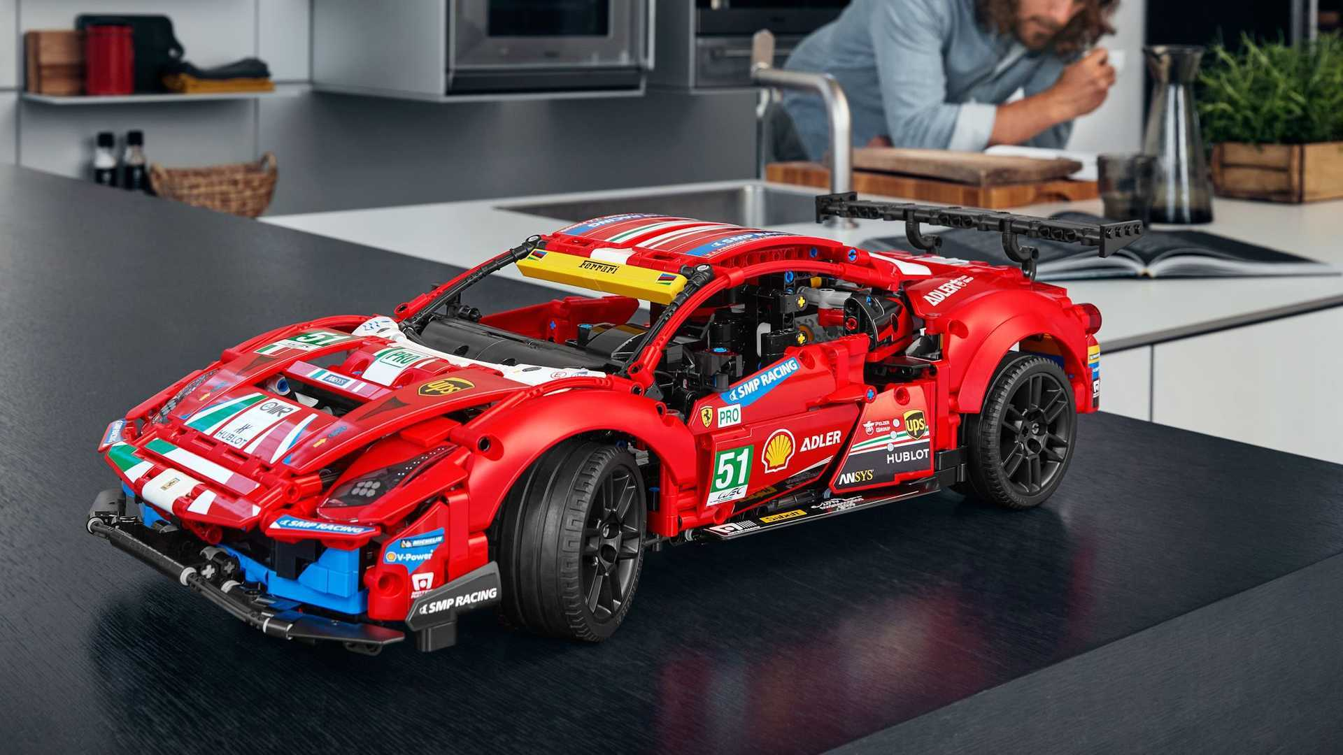 lego ferrari red color