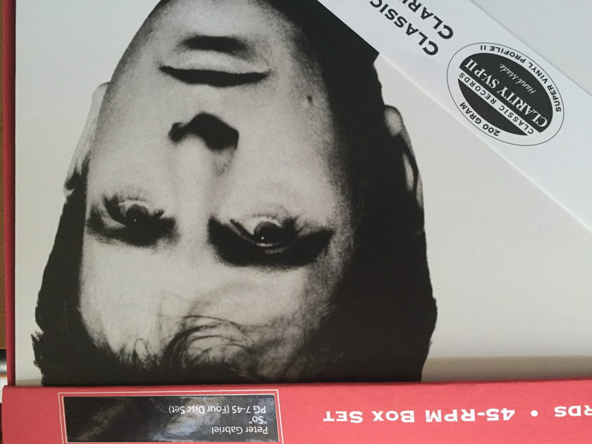Peter Gabriel - Classic Records 45 rpm So