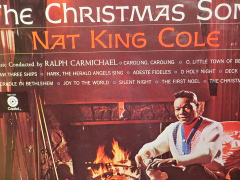 NAT KING COLE - THE CHRISTMAS SONGS SEALED CHRISTMAS ALBUM