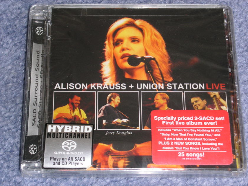 Alison Krauss  - LIVE -- SACD-- sealed