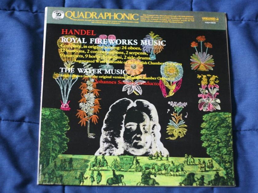 Handel  - Royal Fireworks Music VSQ 30029