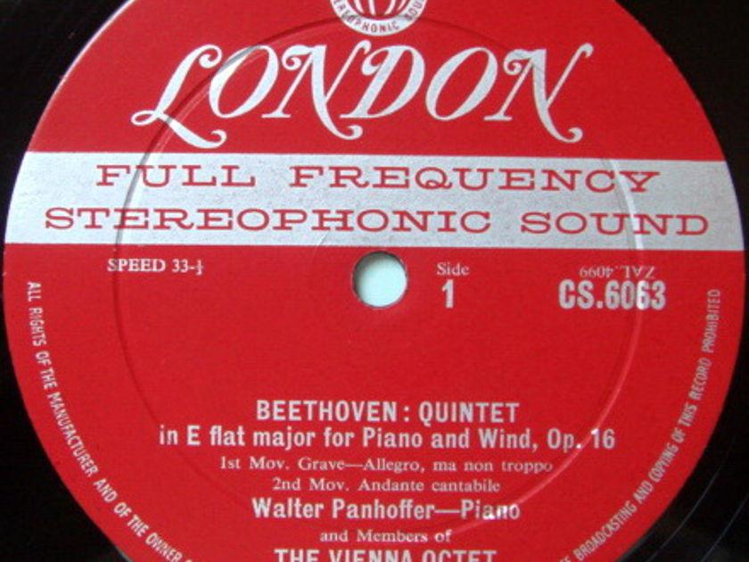 ★1st Press★ LONDON-DECCA FFSS-WB-BB / VIENNA OCTET, - Beethoven Quintet, Mozart Divertimento No.1, NM!