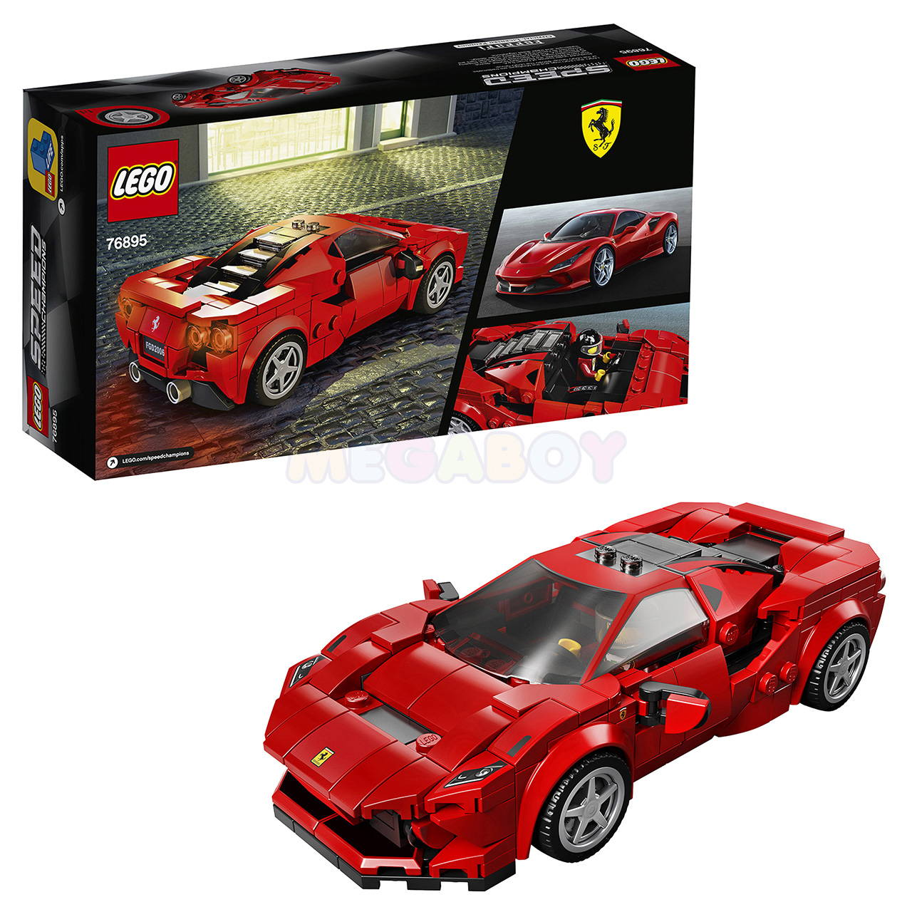 LEGO 76895: Ferrari F8 Tributo