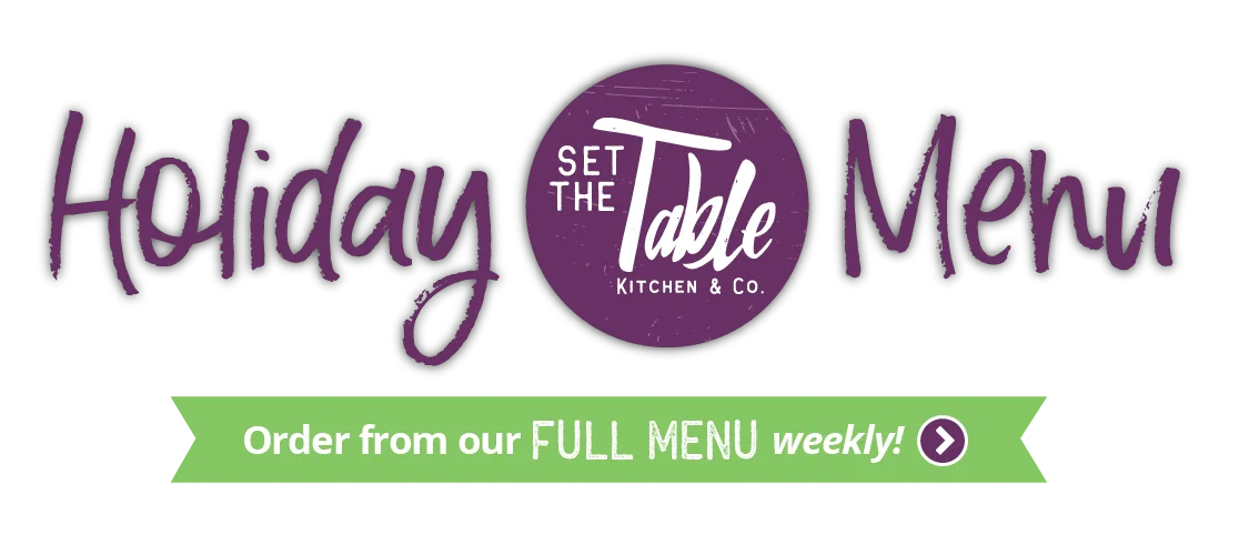 Logo - Set The Table Kitchen   Seasonal Store
