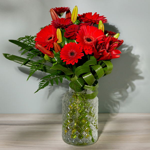 Red Hot_flowers_delivery_interflora_nz