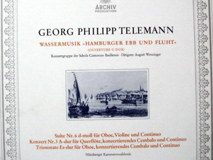 Archiv / NK, - Telemann Overture in C, Suite No.6, MINT!