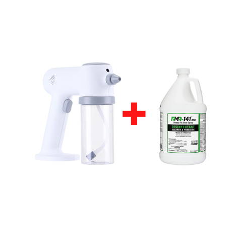 disinfectant fogger and rmr 141