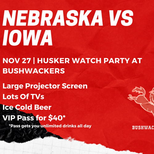 Picture of Cornhuskers vs Hawkeyes!
