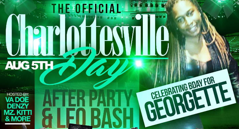 Charlottesville Day Afterparty & Leo Bash