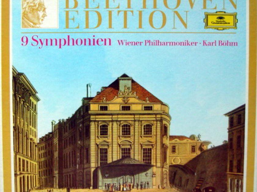 DG / BOHM/VPO, - Beethoven Complete 9 Symphonies, MINT, 8LP Box Set!