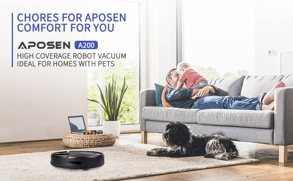 Aposen robot cleaner APP remote control instructions