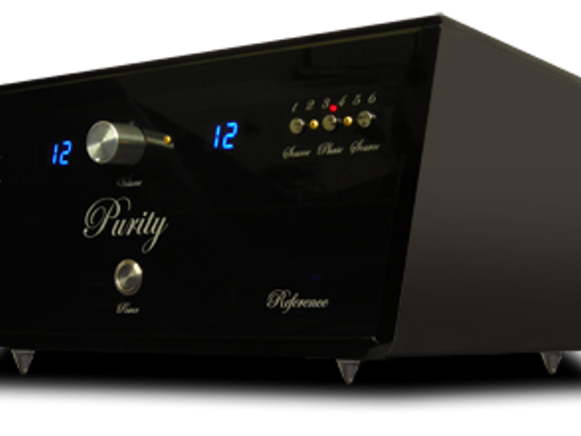 """Purity Audio Design """"Reference"""" Balanced Vacuum Tube Linestage Multi Award Winning Preamplifier"""