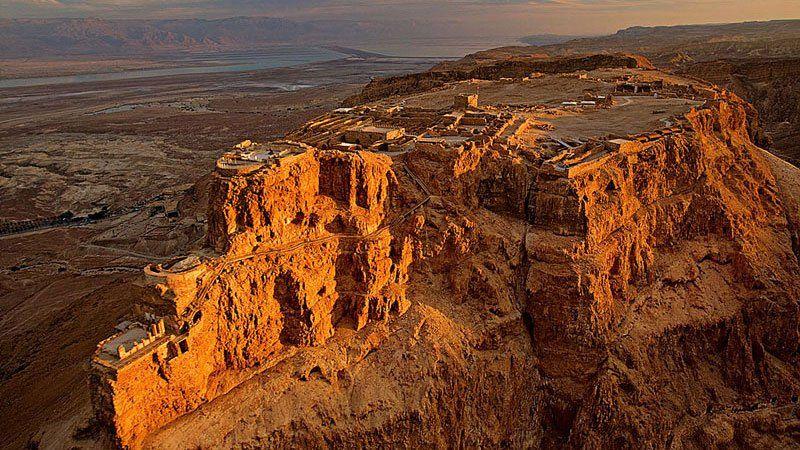 Desert fortress of Masada, Israel