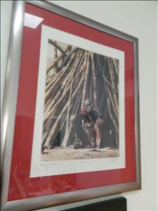 Masai Elder signed #ed photo