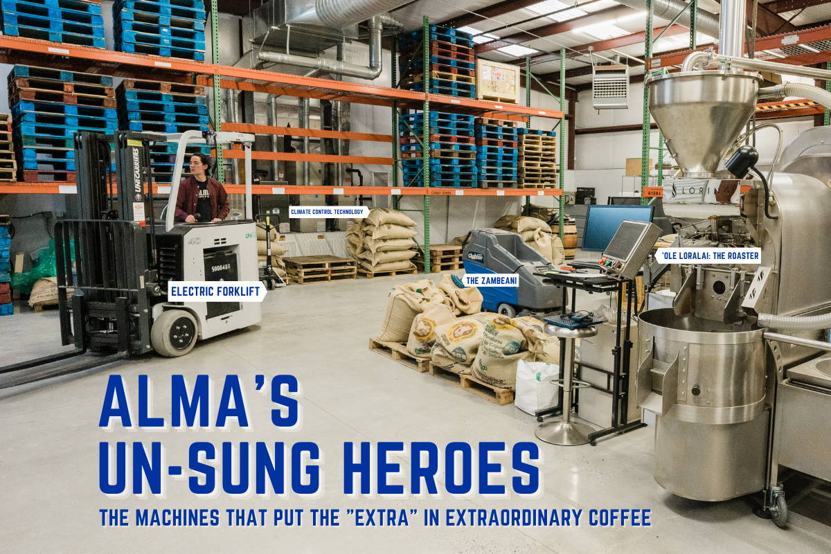 """Blog header image: All four of Alma's """"un-sung heroes"""" in a wide shot"""