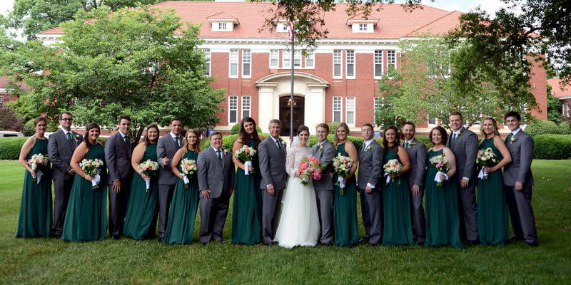 A Summer Berry Themed Wedding at Queen's University