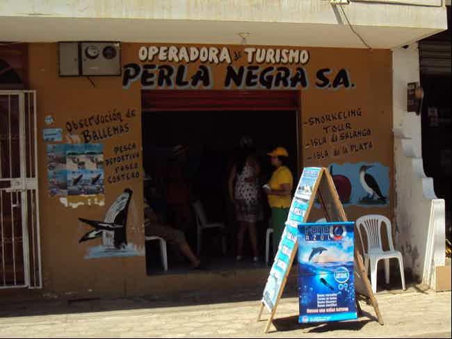 Perla negra aventura-Puerto Lopez