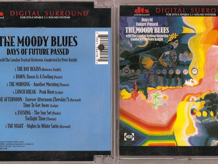 Moody Blues - Days Of Future Passed/Seventh Sojourn DVD-Audio DTS 5.1 Surround OOP