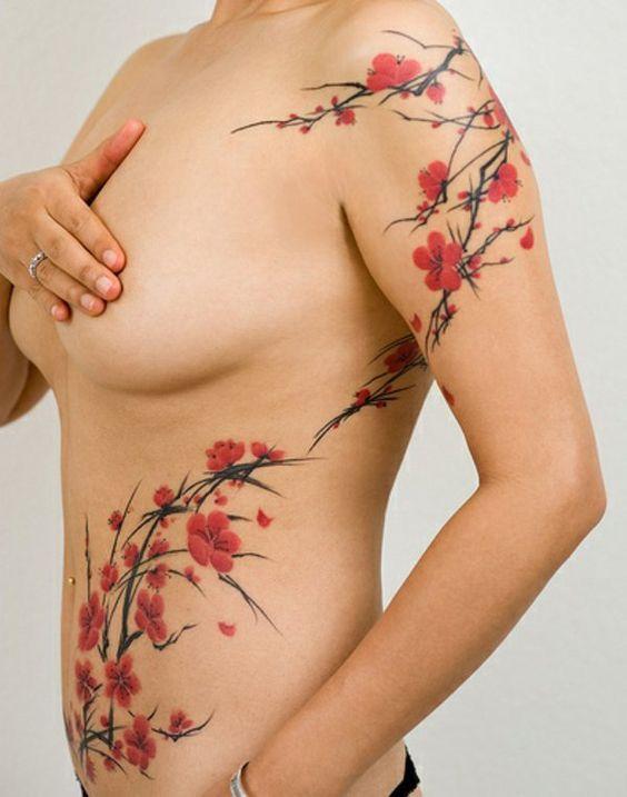 Assez Fleur De Cerisier Tatouage Signification Sc31 Humatraffin