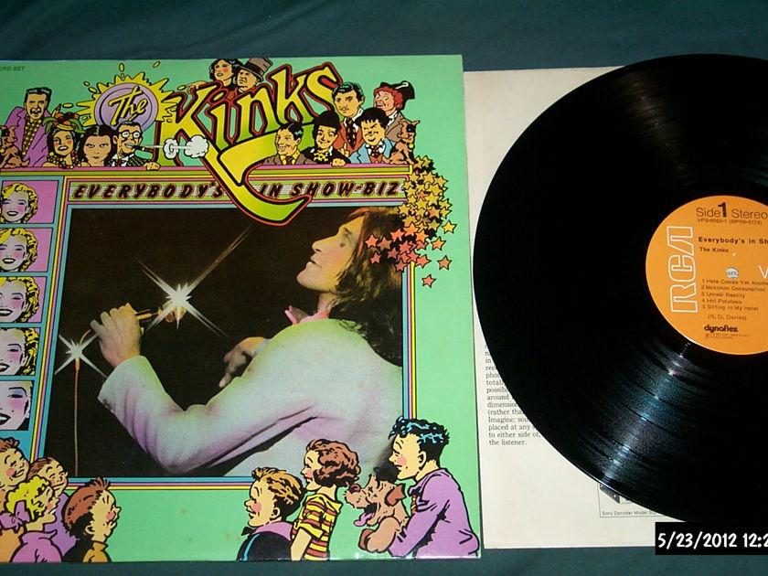 The kinks - Everybody's In showbiz 2 lp nm