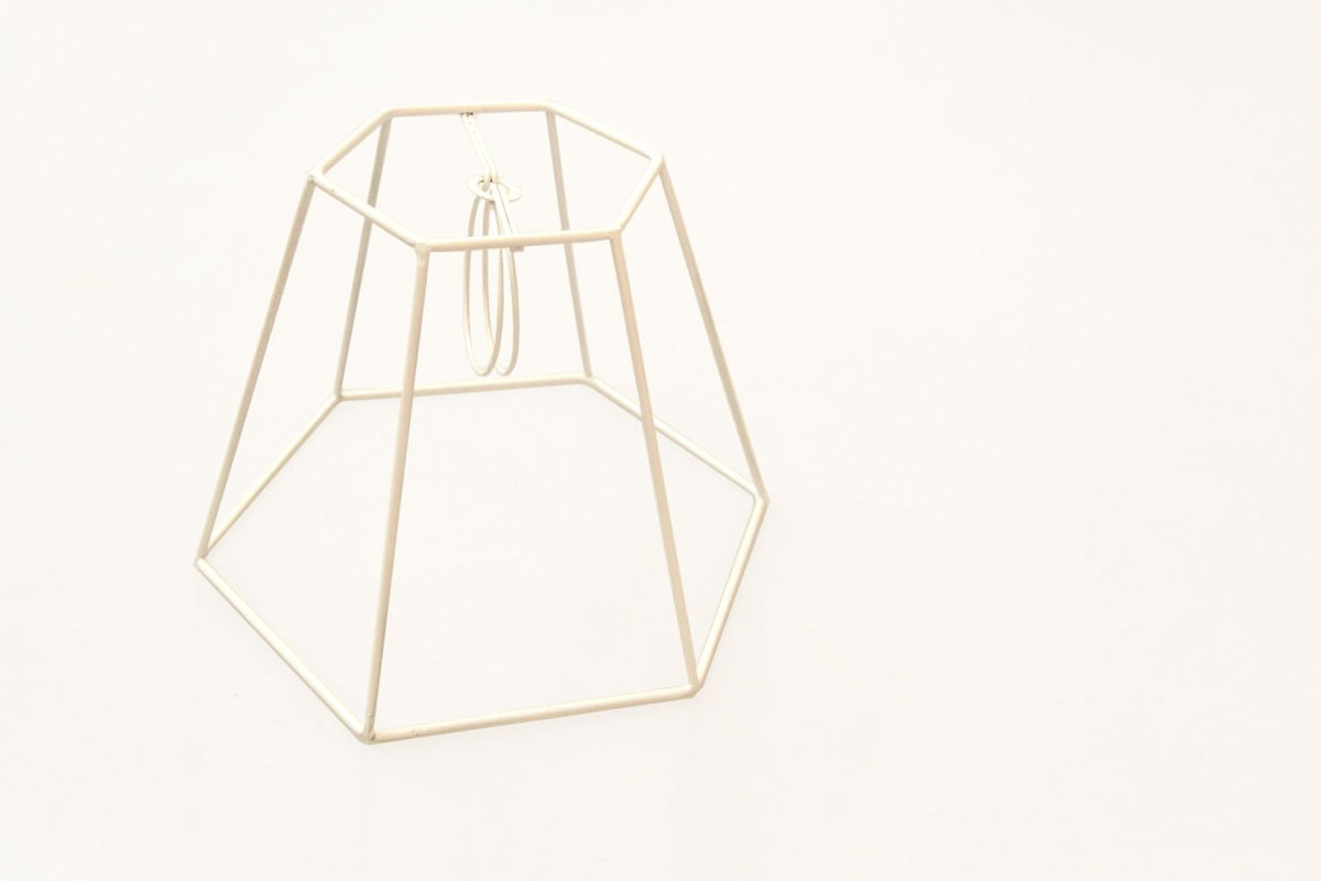 how to make your own lampshade frame