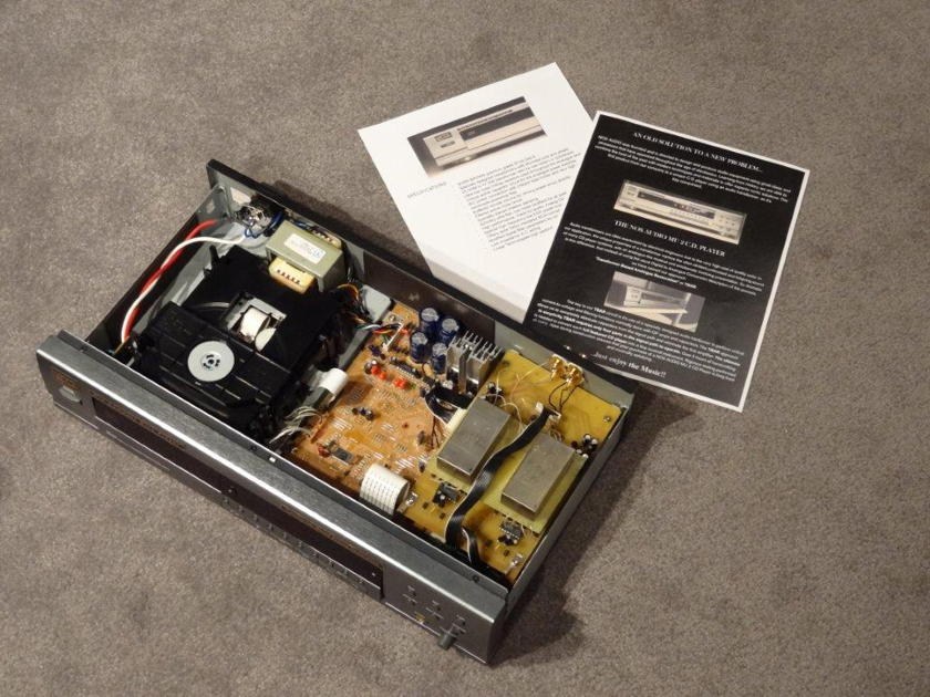 NOS Audio MU2 Transformer CD Player!