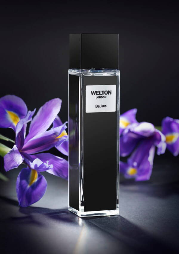 Bel Iris a woody spicy blend leaves a highly original olfactory mark, unisex fragrance