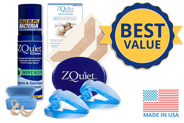 Snoring Elimination set with best value badge