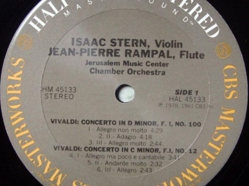 ★Audiophile★ CBS / STERN-RAMPAL, - Vivaldi Double Concertos, MINT!