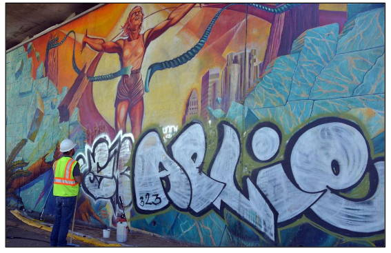 specialize in cleaning and protecting murals