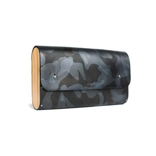 Большая сумка клатч цвета милитари на ремне. (под заказ)