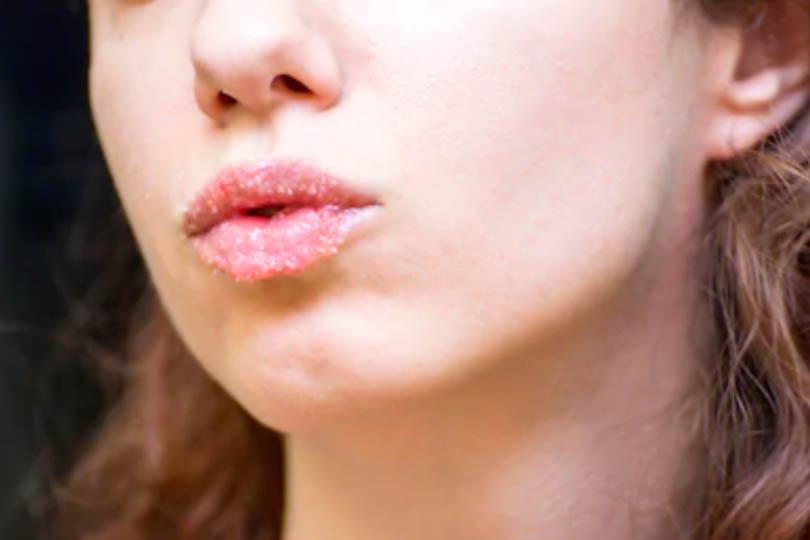 Lip exfoliant