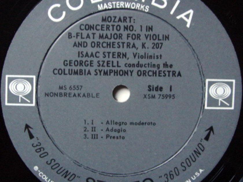 Columbia 2-EYE / STERN-SZELL, - Mozart Violin Concertos No.1 & 5, MINT!