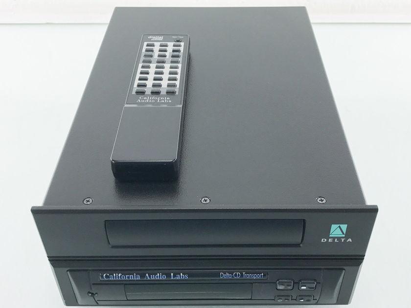 California Audio Labs Delta  CD Transport; CAL (2402)
