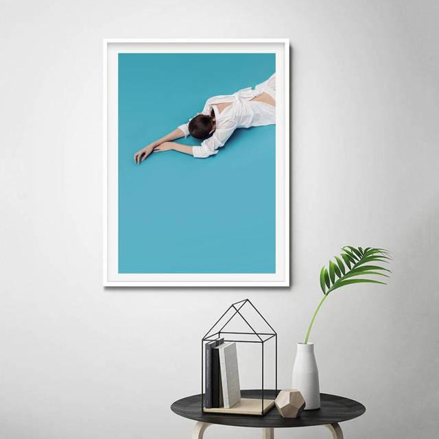 Monochrome Hub Gallery artwork poster