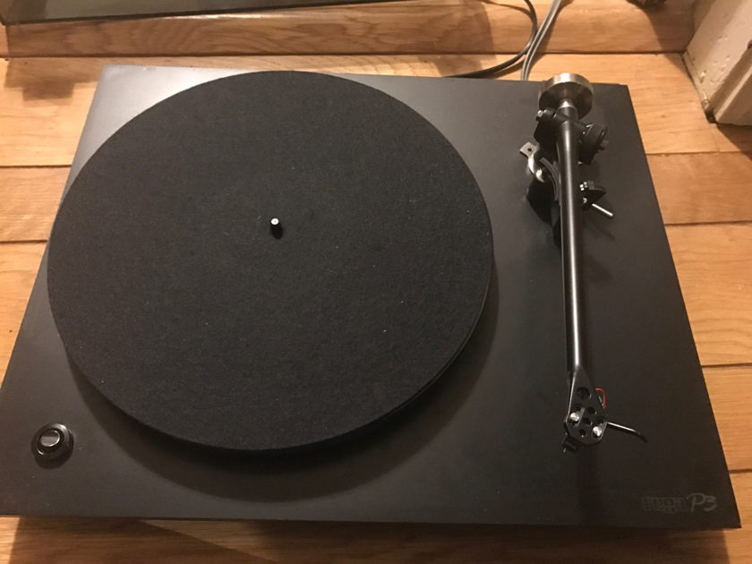 Rega P3 record player with Sumiko Blue Point EVO III cartridge